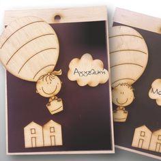 μπομπονιέρα βάφτισης μαγνήτης αγόρι κορίτσι αερόστατο Magnets, Balloons, Boys, Frame, Home Decor, Baby Boys, Picture Frame, Globes, Decoration Home