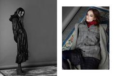 Apricity #photography by SANDRA MYHRBERG / The New Agency #stylist NADIA KANDIL #make up OSCAR SVENSSON / Mikas Looks #hair SAINABOU CHUNE / Mikas Looks #model PAULINA / Nisch Management #photographer's assistant STEPHANIE CETINA