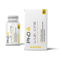 L-leucine is one of the key branched-chain amino acids, and has long been utilised by sporting professionals as part of their nutritional plans. As an essential amino acid, l-leucine cannot be produced by the body and therefore, must be obtained from the diet. PhD Nutrition L-Leucine provides a high