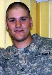 Army Cpl. Nicholas H. Olivas. Died May 30, 2012. Serving during Operation Enduring Freedom. 20, of Fairfield, Ohio; assigned to 4th Squadron, 73rd Cavalry Regiment, 4th Brigade Combat Team, 82nd Airborne Division, Fort Bragg, North Carolina. Died in Zharay, Afghanistan, when enemy forces attacked his unit with an improvised explosive device.