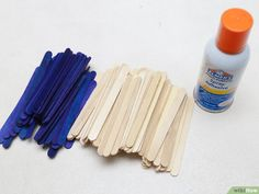 How to Build a Popsicle Stick Tower. Popsicle stick towers are a common engineering project to be assigned in school.Your assignment may have various criteria for height, weight, and number of popsicles, but this guide will give you a. Popsicle Stick Crafts, Popsicle Sticks, Craft Stick Crafts, Crafts For Kids, Building For Kids, 3d Building, Wood Glue, Diy Wood Projects, Popsicles
