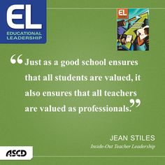 Inside-Out Teacher Leadership