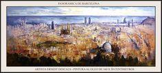 PINTURA-BARCELONA-CATALUNYA-PANORAMICA-OLEOS-CUADROS-ARTISTA-PINTOR-ERNEST DESCALS