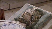 Effigy (c. 1199) of Richard I at Fontevraud Abbey, Anjou