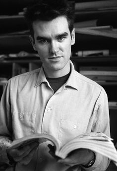 """""""I read persistently. I swam in books as a child, and at some point it becomes quite ruinous."""" -MORRISSEY 1984"""