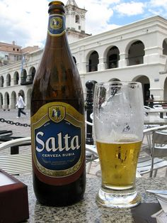 Argentina - Salta Beer Argentina Culture, Argentina Food, Food From Different Countries, Drake Passage, I Like Beer, Beers Of The World, Beer Packaging, Ushuaia, Buenos Aires