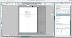 Kreis mit Wellenrand in der Silhouette DE erstellen. - Silhouette Tipps & Verpackungs Ideen von Jette