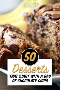 """50 Desserts That Start With a Bag of Chocolate Chips 