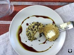 Kürbiskernöl-Topfenknödel Pancakes, Breakfast, Desserts, Food, Morning Coffee, Meal, Crepes, Deserts, Essen
