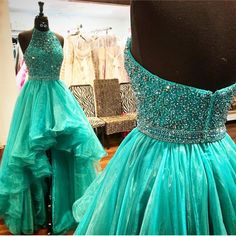 Halter Beaded Prom Dresses, Formal Dresses, Graduation Party Dresses, Banquet Gowns on Luulla