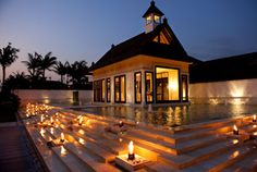 Wedding chapel at St. Regis Bali resort