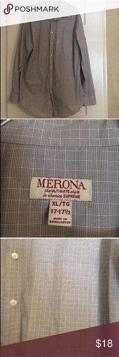 Offer 50% off • Men's Dress Shirt • Good condition men's dress shirt   • Offers Welcome • Bundle Discounts  • Suggested User • Fast Shipper Merona Shirts Dress Shirts