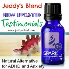 Jeddy's Blend - NEW and UPDATED Testimonials. A Natural Alternative for ADHD, ADD, Anxiety and more.