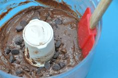 Vegan brownie batter #vegan #dessert