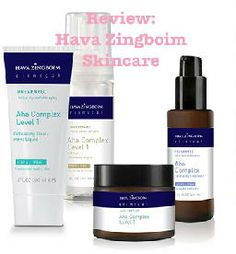 Review: Hava Zingboim Skincare. Learn about this skincare line from Israel.