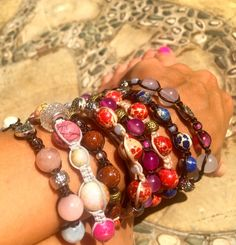 Veronica, Beaded Bracelets, Jewelry, Fashion, Moda, Jewlery, Jewerly, Fashion Styles, Pearl Bracelets
