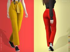 Palazoo Pants by Heavendy-cc for The Sims 4