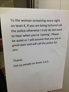 """The Best Of """"Notes To Neighbors""""  – 40 Pics"""