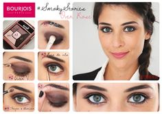 Palette d'ombres à paupières Smoky Stories teinte Over Rose de Bourjois #smoky #stories #smokystories #overrose #tuto #yeux #rose