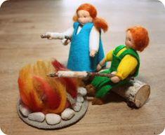Atelier WOLfjes Wereld: Stokbroodjes bakken boven kampvuurtje (St. Jan)