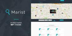 Marist - Directory & Listings WordPress Theme - Directory & Listings Corporate