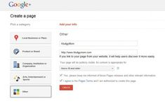 How To Set Up Your Blog's Google Plus Page