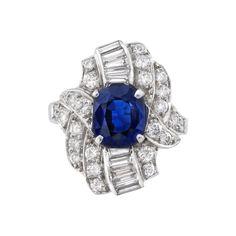 Estate+Betteridge+Collection+Art+Deco+Sapphire+