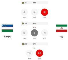 10월8일 우즈베키스탄 이란 축구 스포츠분석 고급정보