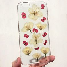 IPHONE 6 / 6s pressed dried flower phone case  field wild