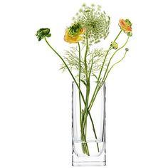 Buy LSA International Modular Vase, Clear, H25cm Online at johnlewis.com