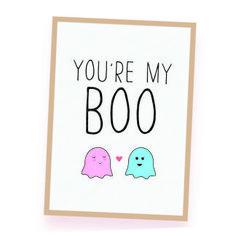 My Boo, Love Cards, Printables, My Love, Cartas De Amor, Print Templates