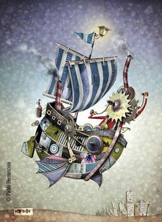 Obra de Pablo Bernasconi Action Poses, Classical Art, Comic Page, Inspiration For Kids, Drawing Techniques, Photo Manipulation, Surrealism, Childrens Books, Sculptures