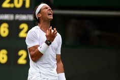 In pics: Nadal ousted on Day 1 at Wimbledon