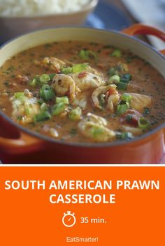 South American Prawn Casserole