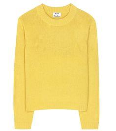 ACNE STUDIOS Saidy Wool Sweater. #acnestudios #cloth #sweater