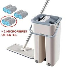 Flat Squeeze Automatic Avoid Hand Washing Mop – NEWEST TRENDS