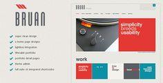BRAUN WP Theme. Filterable portfolio, nifty post layout, sweet slider, jquery goodies