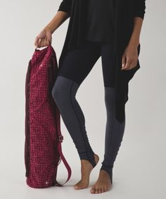 Protect your yoga gear with in Drishti yoga tote from Lululemon.