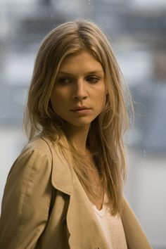 girl crush on clemence poesy. such a perfect, classic style.