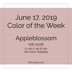Your Color of the Week and forecast for the week of June 17. Allowing our curiousity & acting on it has stirred up more than inquisitiveness. It's also ...