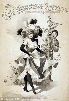 Meet the original Dita Von Teese: Saucy vintage burlesque posters go on display   Mail Online