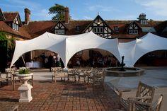 Lulworth Courtyard marquee Courtyard Wedding, Castle, Patio, Outdoor Decor, Weddings, Beautiful, Patio Wedding, Terrace, Porch