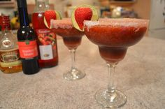 Celebrate your night with these beautiful ‪#‎NapaValley‬ ‪#‎Strawberry‬ ‪#‎Balsamic‬ ‪#‎Daiquiris‬ - featured on ifood TV today!  Cooking Show: http://ifood.tv/drink/1015216-how-to-make-napa-valley-strawberry-balsamic-daiquiris  This show is brought to you by Wine Country Kitchens: http://WineCountryKitchens.com  * Subscribe to Cooking With Kimberly: http://cookingwithkimberly.com @CookingWithKimE ‪#‎cwk