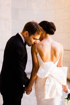 This dress and the photo! http://www.stylemepretty.com/new-york-weddings/new-york-city/manhattan/2015/04/29/classic-black-white-manhattan-central-park-wedding/ | Photography: Trent Bailey - http://www.trentbailey.com/