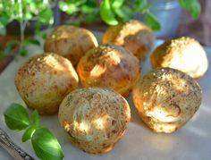 Runnstykker 1 Parmesan, Baked Potato, Salsa, Muffins, Food And Drink, Potatoes, Baking, Breakfast, Ethnic Recipes
