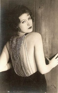 Greta Garbo, c. 1920's. Hollywood glamour