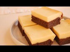 Cream Cheese Brownies 크림치즈 브라우니 (치즈케이크 브라우니) 만들기 | Kkuume 꾸움 - YouTube