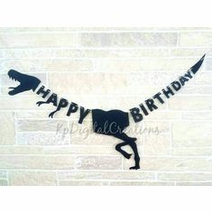 Raptor Dinosaur Happy Birthday Banner Decoration Raptor Dinosaur, Birthday Breakfast, Wall Banner, All Themes, Kids Party Supplies, Happy Birthday Banners, Birthday Parties, Decoration, Anniversary Parties