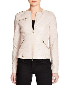 GUESS Skye Faux Leather Jacket