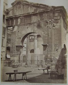 Portico d' Ottavia. Chiesa di S. Angelo in Pescheria
